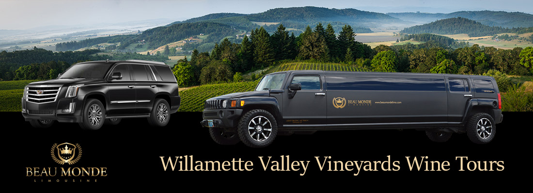 Portland Wine Tour Limousine & Transportation Service RentalsWillamette Valley Vineyards Winery Limo Tours